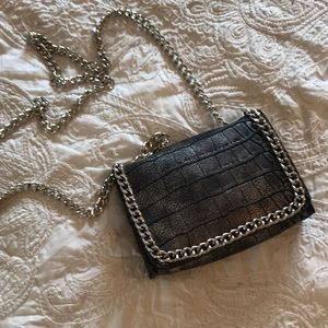 Missguided Snakeskin mini cross body